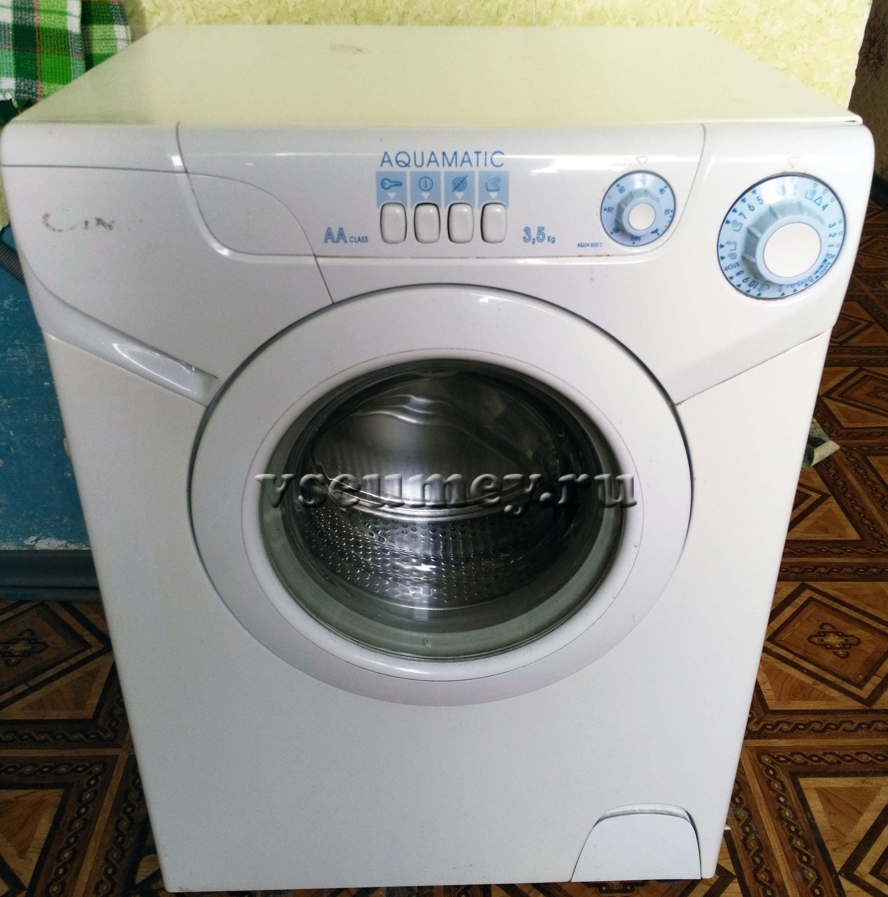 Разборка стиральной машины Candy aqua 800